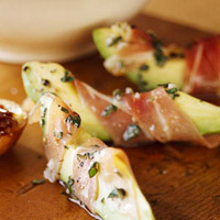 Image of Avocado With Prosciutto, Better Homes and Garden