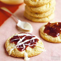 White Chocolate and Raspberry Cookies