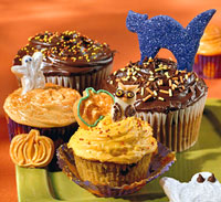 Pumpkin-Chip Cupcakes