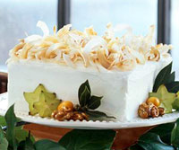 Image of Apricot-nut Spice Cake With Coconut Butter Frosting, Better Homes and Garden