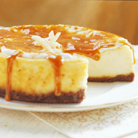 Fresh Ginger Cheesecake