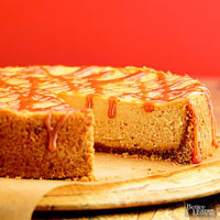 Maple-Pumpkin Cheesecake