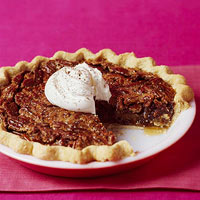 Bourbon-Raisin Pecan Pie