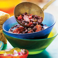 Zesty Black-Bean Chili