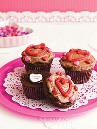 Be-My-Valentine Cupcakes