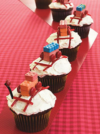 Image of All-Aboard Cupcakes, Ladies' Home Journal
