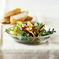 Sauteed Pork & Pear Salad