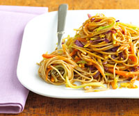 Image of Asian Noodle Slaw, Better Homes and Garden