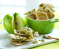 Pistachio-Chive Crisps