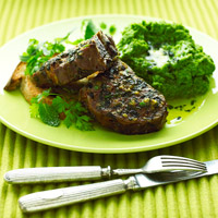Minty Roasted Lamb Chops