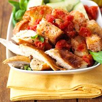 Quick Chicken Panzanella