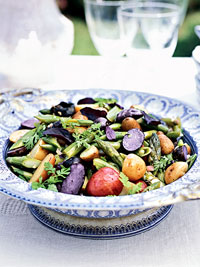 Spring Vegetable Herb Salad