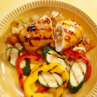 Image of Apricot-Stuffed Chicken With Flair, Midwest Living