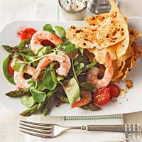 Shrimp & Watercress Salad