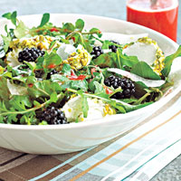 Image of Arugula Salad With Berry Dressing, Better Homes and Garden
