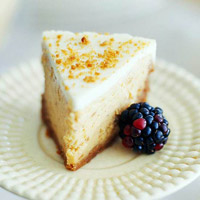 Sweet Potato Cheesecake in a Gingersnap Crust