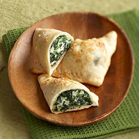 Mini Spinach Calzones