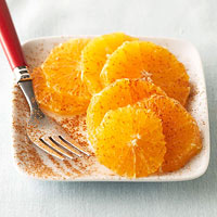 Cinnamon Orange Slices