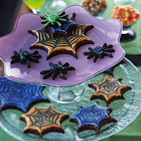 Spooky Spider Cookies