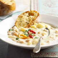 Bean-Potato Chowder