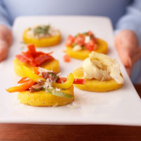 Polenta with Peppers and Olives