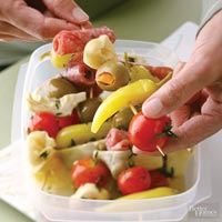 Image of Antipasto Kabobs, Better Homes and Garden