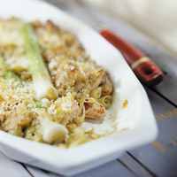 Chicken-Leek Casserole