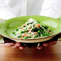 Classic Risotto with Peas