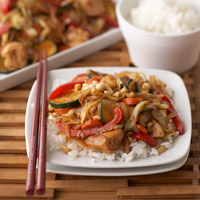 Image of Ginger Chicken Stir-fry, Better Homes and Garden
