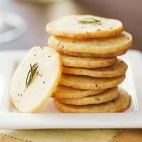 Asiago Wafers