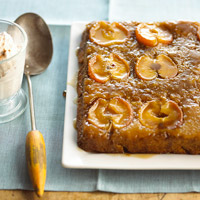Image of Apple Upside-down Cake, Better Homes and Garden