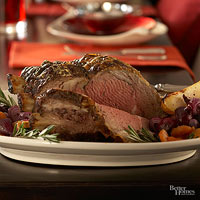 Christmas Rib Roast