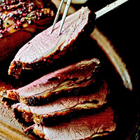 Prime Rib with Creamed Horseradish