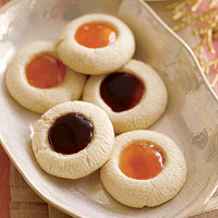 Vanilla Thumbprints