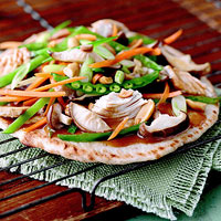 Thai-Style Chicken Pizza
