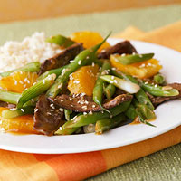 Sesame Orange Beef