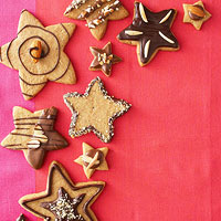 Brown Sugar Almond Stars