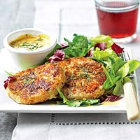 Salmon - Potato Cakes