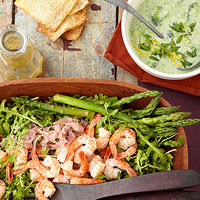 Image of Asparagus And Shrimp Salad, Better Homes and Garden