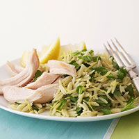Chicken with Orzo