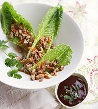 Hoisin-Tofu Lettuce Wraps