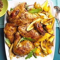 Chicken with Summer Squash