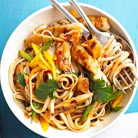 Sesame Chicken and Noodles Recipe