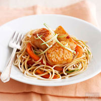 Scallops with Orange and Honey