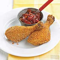 Chicken with Spiced Tomato Jam