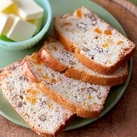 Apricot, Pecan, and White Chocolate Bread