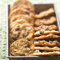 Sweet-Salty Almond Chocolate Chippers