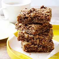 Cappuccino-Caramel Oat Bars