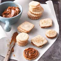 Image of Alfajores (argentine Caramel Sandwich Cookies), Better Homes and Garden
