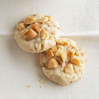 Coconut Macadamia Shortbread Coins
